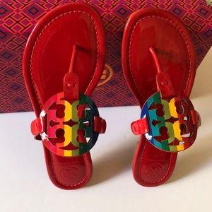 Tory Burch Rainbow Miller Sandals